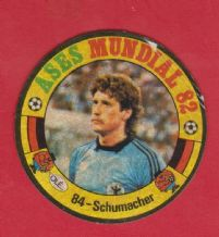 West Germany Harald Schumacher 84